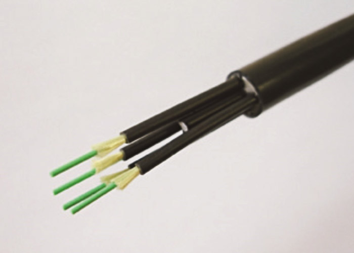 Non-metallic optical cable for fixed wiring