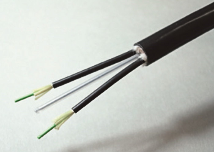 Optical cable for fixed wiring