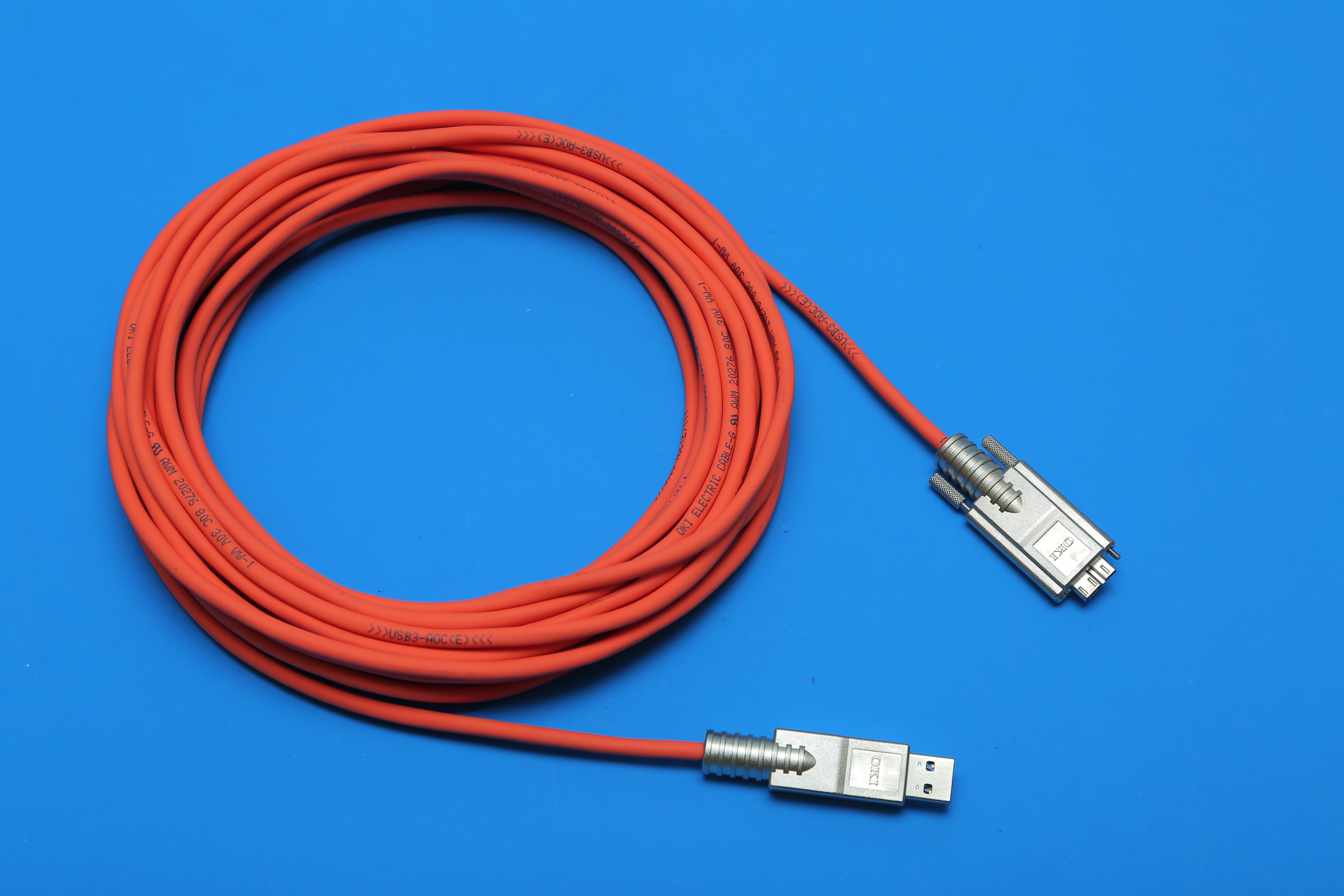 Usb3 Vision Active Optical Cables Oki Electric Cable America